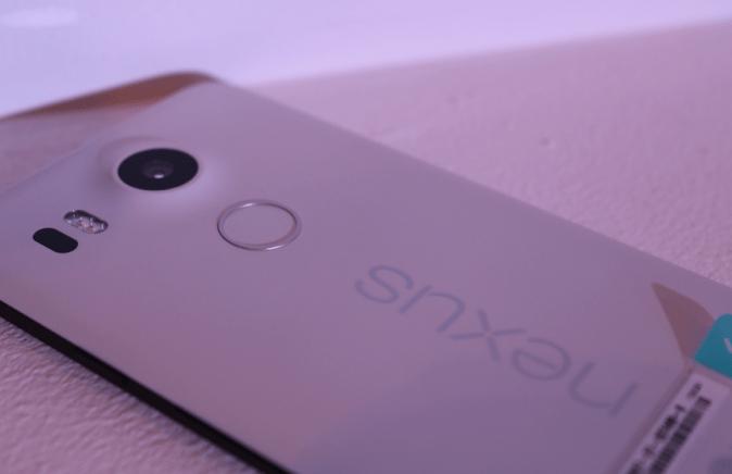 LG Nexus 5X Back