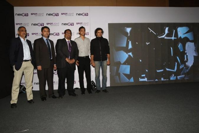 Mr. Deepak Segal, Chief Content Officer, Mr. Abhesh Verma, COO, Digivive, Mr. G.D Singh, Director  & CEO, Digivive, Mr. Imtiaz Ali