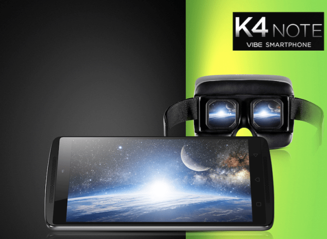 Lenovo Vibe K4 Note with TheaterMax
