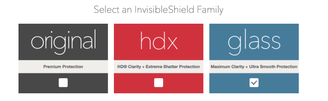 ZAGG Invisible Shield Family