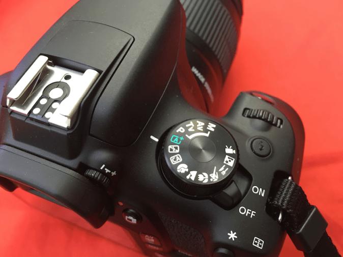 Canon EOS 1300D Dial