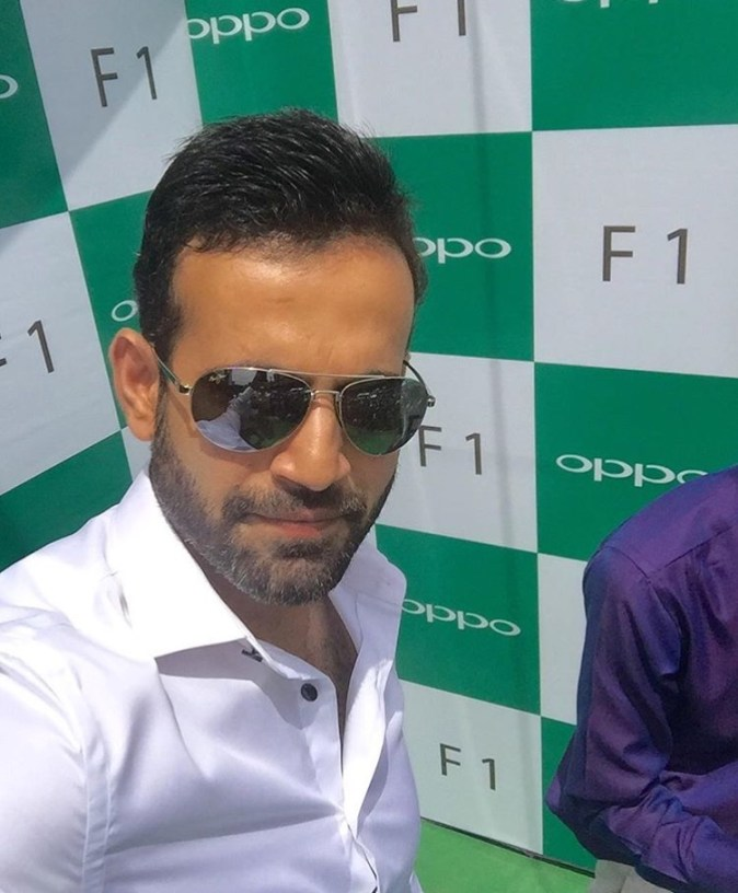 Irfan Pathan launches OPPO exclusive store in Jaipur