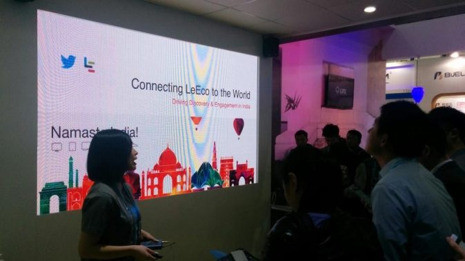 Connecting LeEco to the world