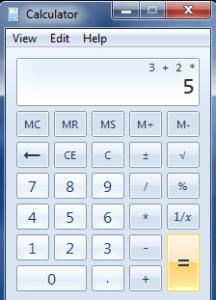 Bodmas Calculator