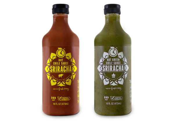 Fresh & Easy Sriracha Hot Sauces
