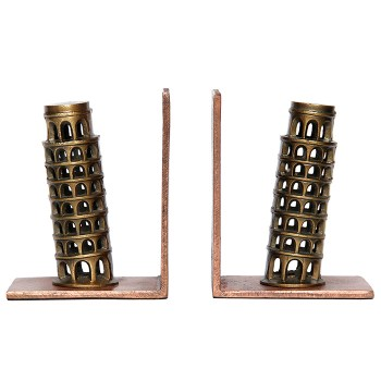 Apartment 9 Leaning Tower of Pisa bookend