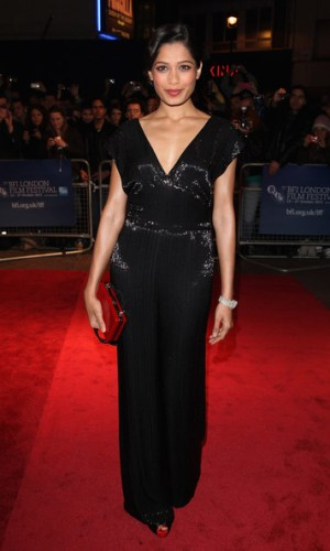 In Ralph Lauren at the London Film Festival, 2011
