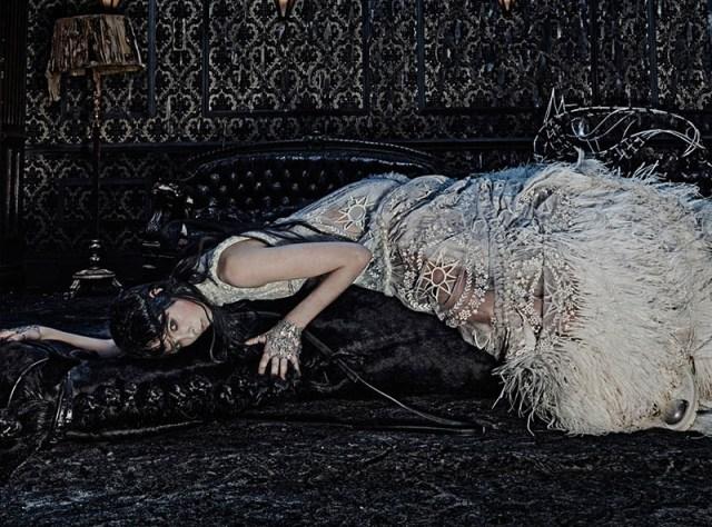 Alexander Mc Queen  Fashion AW 2014 campaigns