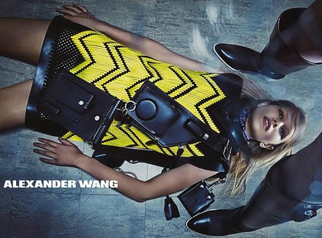 Alexander Wang Fashion AW 2014 campaigns