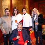 Zee Jaipur Literature Festival Sir V. S. Naipaul's influential book – A House for Mr. Biswas Ashok Wadhwa, Lady Naipual, Reena Wadhwa, Sanjoy Roy, Sir Naipaul