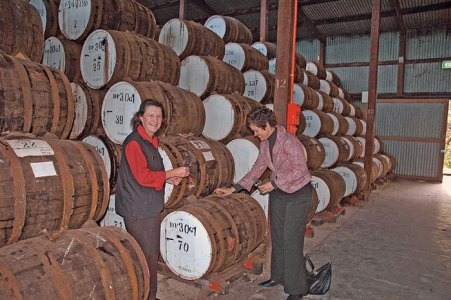 Port wine barrels, Steppeltsfield