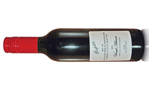 Vinod Advani's wine bottle