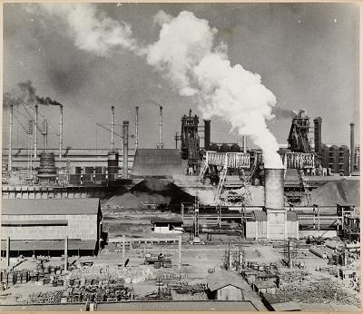 Bhilai Steel Works, early 1960s