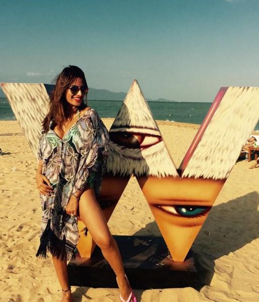 Bipasha Basu gets some beach time in Maldives