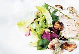 Chicken and Litchi Salad