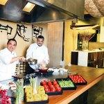 Chef Kamarudin Bin Dali and Chef Joy Bhattacharya: a flash in the pan