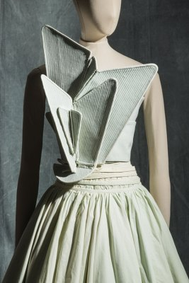 Hussein Chalayan, dress, Spring/Summer 2000, silk faille, cotton linen and synthetic tulle