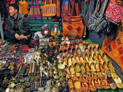 The night market on Temple Street