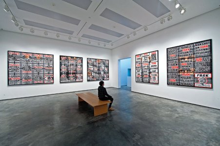 Gilbert & George, London Pictures (2012), White Cube Hong Kong