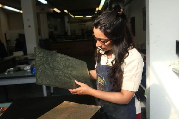 Sonia Mehra Chawla at London Print Studio, United Kingdom