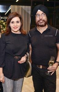 Jeeti and Harpreet Sindhu