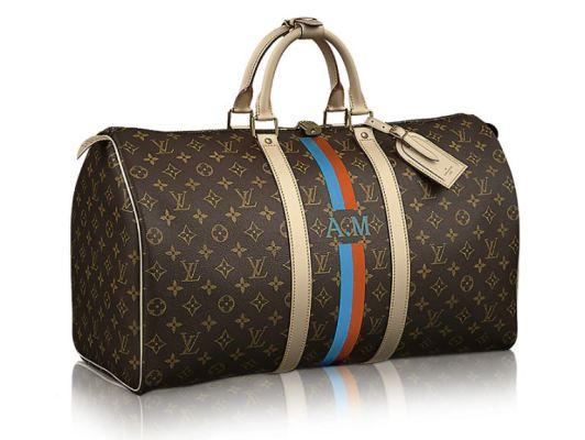 Personalised Mon Monogram handbag from Louis Vuitton