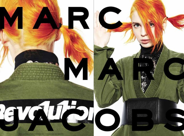 Marc Jacobs aw campaigns 2014