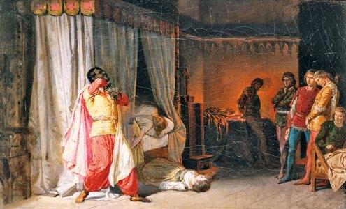 Molmenti Pompeo Marino La morte di Otello