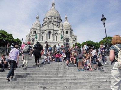 Sacre Coeur: sentinel on a hill