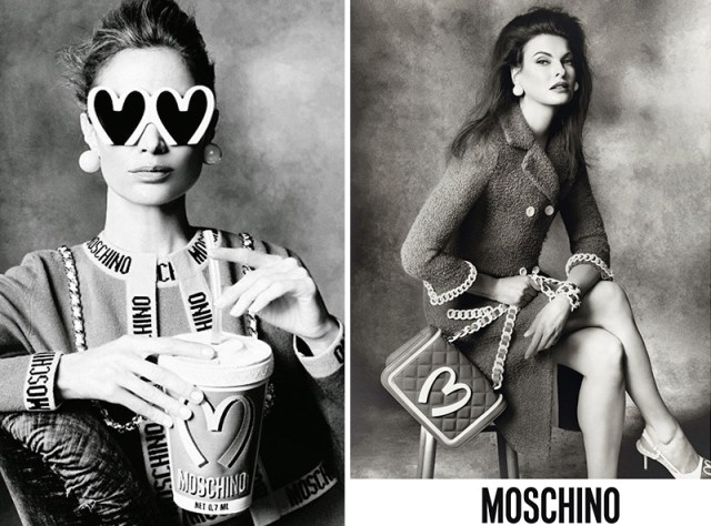 Moschino aw campaigns 2014