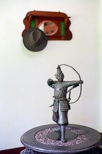 Oriental artifacts: a Chinese warrior