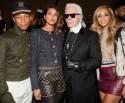 Pharrell Williams, Helen Lasichanh, Karl Lagerfeld, Beyonce