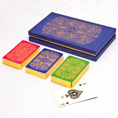 Playing cards from 61C