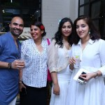 Rajiv Purohit, Divya Kapoor, Arya Nerkar, Priyanain Sawhney at the Nicobar New Delhi launch