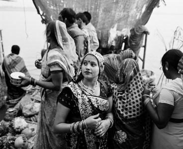 An Eastern Indian bride, Varanasi
