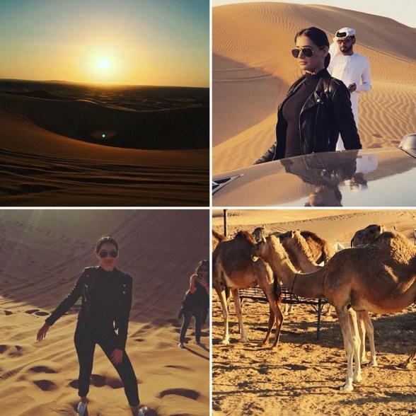 Nargis Fakhri plays diva in the dunes in Dubai
