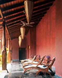 The serene ambience of the Jiva Spa