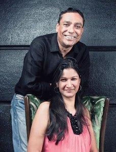 Jay Yousuf and Gauri Devidayal