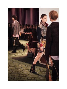 Burberry's September collection