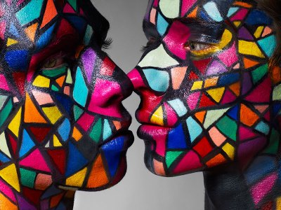 Kaleidoscopic Kiss