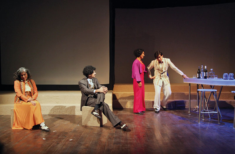 Naseeruddin Shah, Riding Madly Off In All Directions, Motley