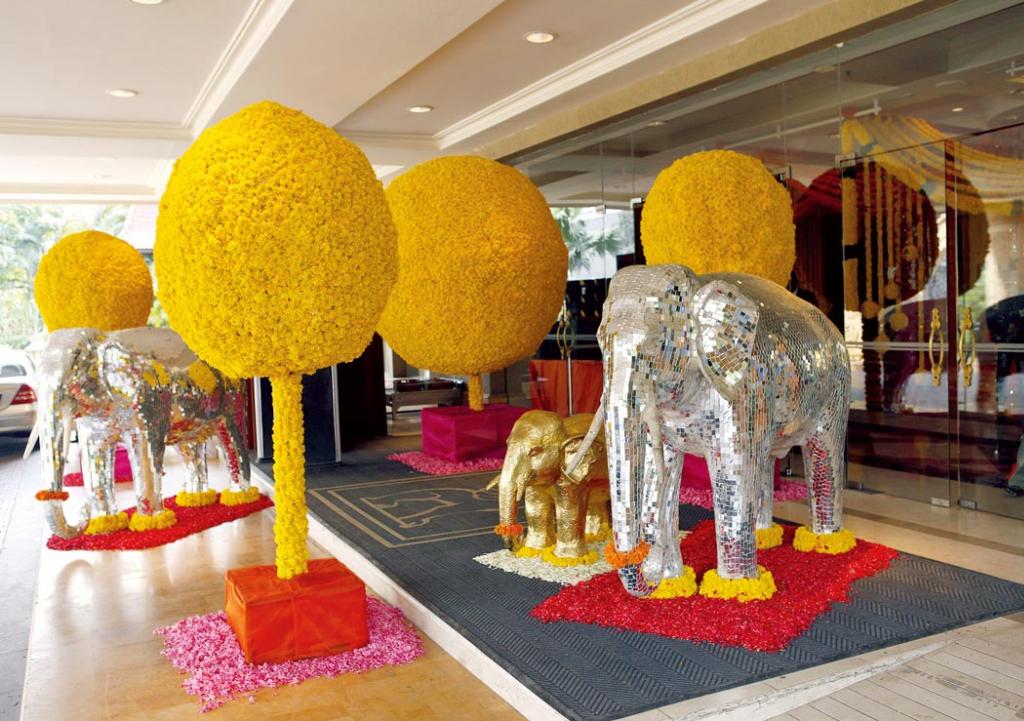 Flower arrangements by Gurleen Puri