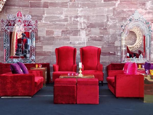Jazzy seatings by Neelabh Kapoor