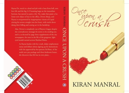 Kiran Manral's Once Upon A crush book jacket