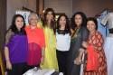 Veda Raheja, Geetu Hinduja, Zeba Kohli, Seema Mehrotra, Parveen Dusanj, Nandita Puri at Zeba Kohli's Project 7
