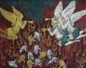 Artwork by Khadim Ali for Forlorn Foe at Latitude 28, New Delhi