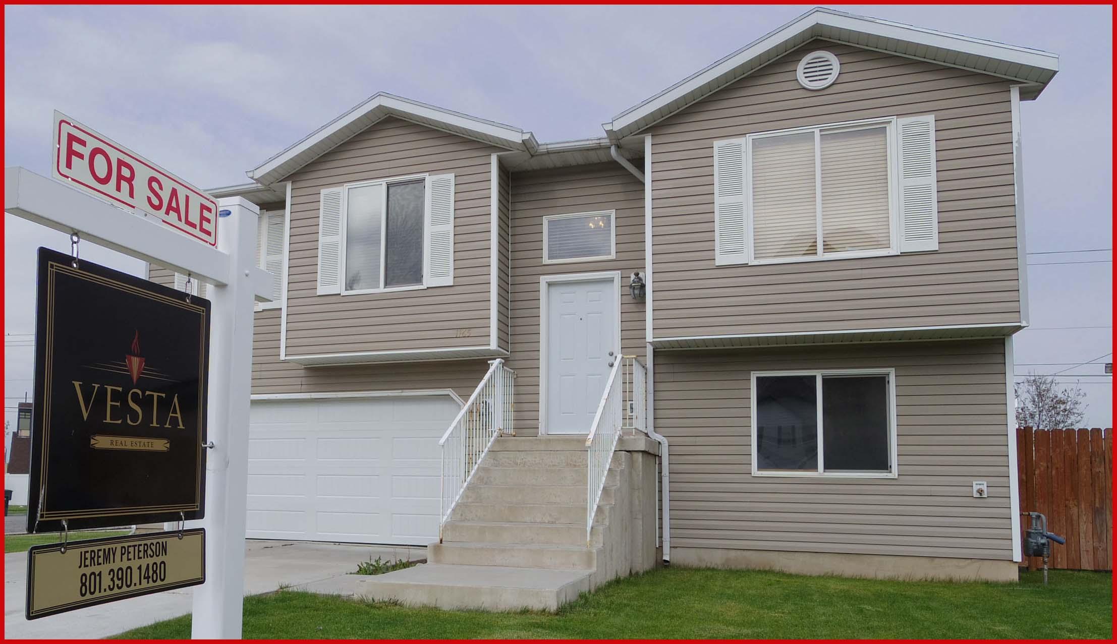 Home For Sale - Vesta Sign In Yard b