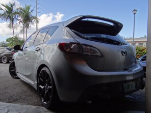 MazdaSpeed 3 Rear