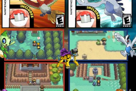 30030 pokemon heart gold and soul silver version