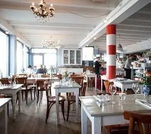Mangiare ad Amsterdam sull'acqua: Wilhelmina Dok